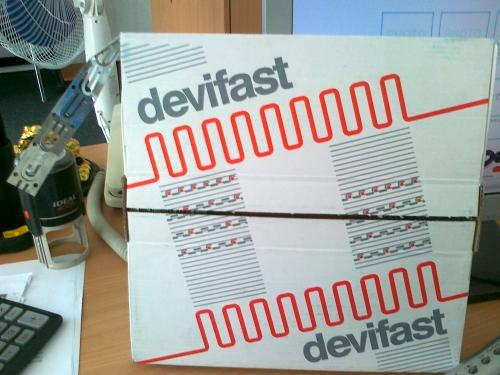 DEVIfast Double Metal, Оцинк. монт. стрічка подвійна 50 м