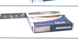 DEVIfast Double Metal Стальная оцинкованная монтажная лента двойная, 1 рулон 50 м