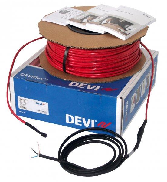Фото  1 Греющий двужильный кабель DEVIflex 18T 1340Вт, 74,0м, DEVI (Дания) 1851271