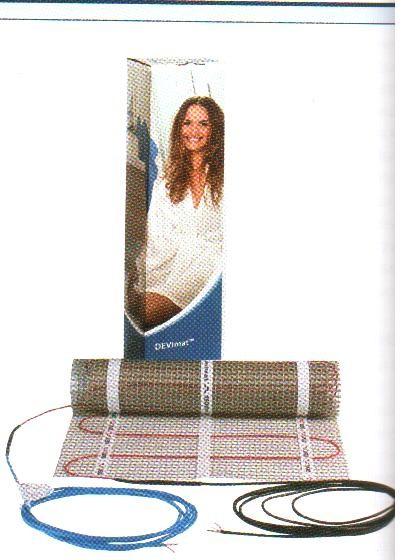 DEVIheatDSVF-150 Нагревательный мат одножильный экранированный. размер 0,5х1 м; площадь 0,5 кв. м
