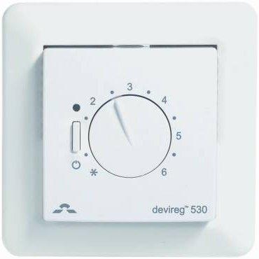 Фото  1 Терморегулятор DEVIreg 530 электронный, DEVI 1907953