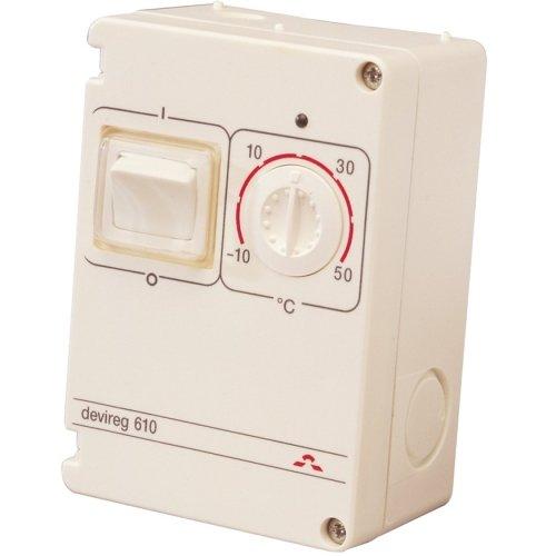 Фото  1 Терморегулятор DEVIreg 610 электронный IP44, DEVI 1907961