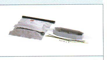 DEVIrep Ремонтный набор с клеевым компаундом для двухжильного кабеля
