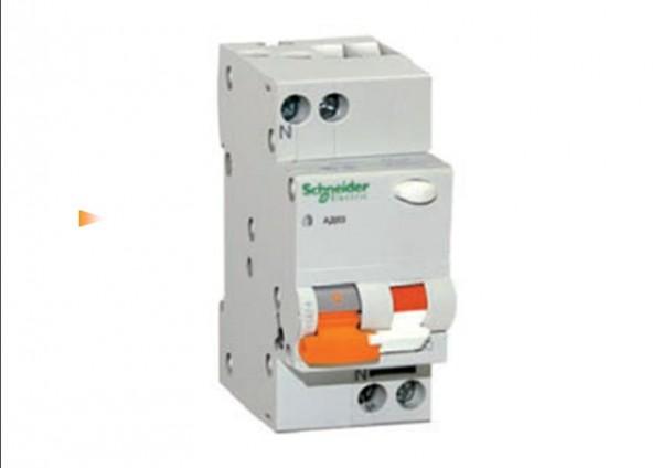 Дифференциальные автоматические выключатели (комбинация автоматического выключателя и УЗО) АД63 2п 16A C 30мА