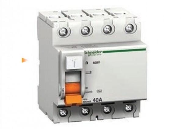 Дифференциальные автоматические выключатели (комбинация автоматического выключателя и УЗО) ВД63 4п 25A 30mA