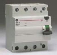 Дифреле УЗО 3ф 4p 100А 100мА AEG, General Electric