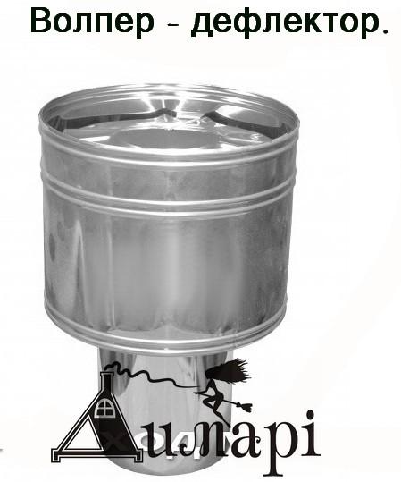 Волпер дефлектор – ставят над вентиляционным, дымоходным каналами. Основная задача - усилить тягу.