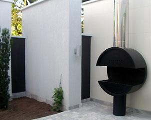 Дымоход труба для камина диам 200мм толщ 1мм сталь нерж 409