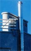 Дымоход труба для сауны диам120 толщ1мм сталь нерж 409