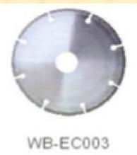 Диск отрезной WB-EC003 с гальванопокрытием для сухой резки, по мрамору