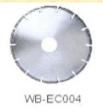 Диск отрезной WB-EC004 с гальванопокрытием для сухой резки, по мрамору