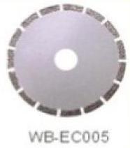 Диск отрезной WB-EC005 с гальванопокрытием для сухой резки, по мрамору