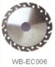 Диск отрезной WB-EC006 с гальванопокрытием для сухой резки, по мрамору