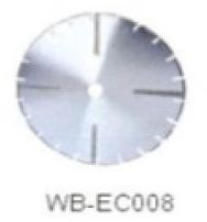 Диск отрезной WB-EC008 с гальванопокрытием для сухой резки, по мрамору