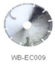 Диск отрезной WB-EC009 с гальванопокрытием для сухой резки, по мрамору