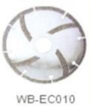 Диск отрезной WB-EC010 с гальванопокрытием для сухой резки, по мрамору