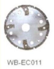 Диск отрезной WB-EC011 с гальванопокрытием для сухой резки, по мрамору