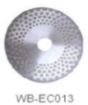 Диск отрезной WB-EC013 с гальванопокрытием для сухой резки, по мрамору