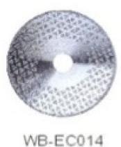 Диск отрезной WB-EC014 с гальванопокрытием для сухой резки, по мрамору