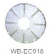 Диск отрезной WB-EC018 с гальванопокрытием для сухой резки, по мрамору