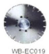 Диск отрезной WB-EC019 с гальванопокрытием для сухой резки, по мрамору
