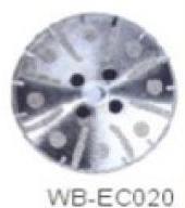 Диск отрезной WB-EC020 с гальванопокрытием для сухой резки, по мрамору