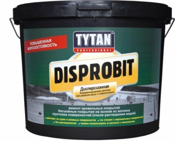 Фото  1 TYTAN Disprobit битумно-каучуковая дисперсионная мастика для ремонта кровли и гидроизоляции 1811854