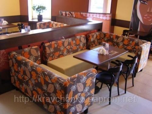 Диван для кафе, бара, ресторана, фастфуда, пицерии, кофейни —Тунис