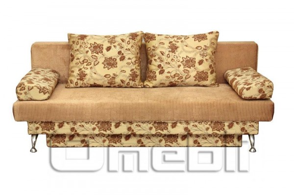 Диван Форсаж ткань Раним Браун и Кристалл 1774-406236 Код A101319