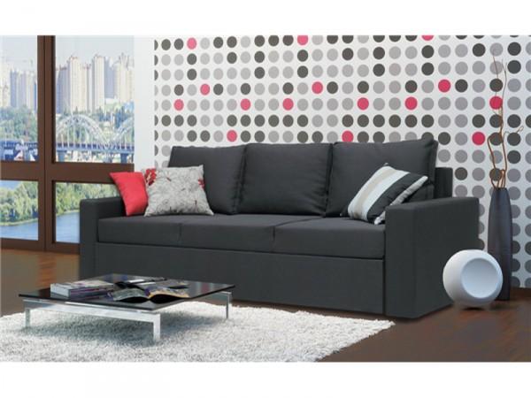 "Диван ""Жан"". Матрас на основе пены EcoFoam. Габаритные размеры дивана(д/ ш/ в): 2400 х 900 х 800."