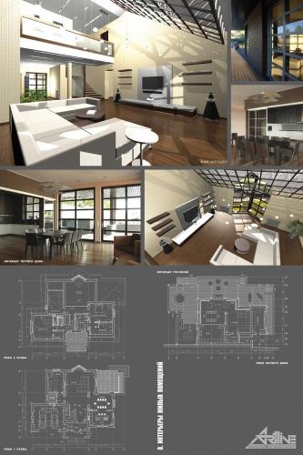 Дизайн интерьеров жилых помещений ( квартиры, частные дома )