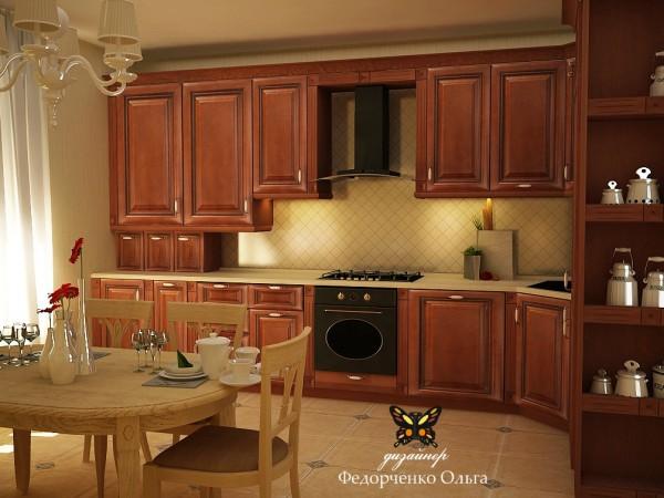 Дизайн кухни. Стиль - современный модерн