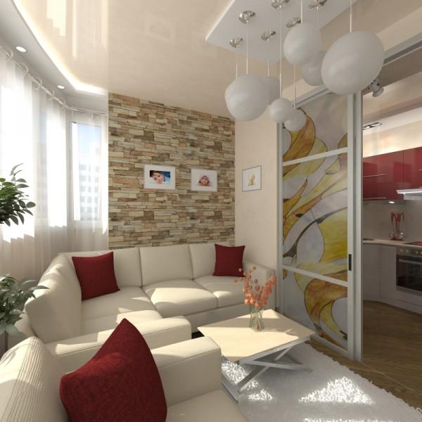 Дизайн- проект интерьера с подбором материалов украинских и европейских производителей.