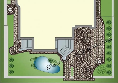 Дизайн садовых дорожек, материалы для мощения.
