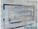 Фото  1 Дизайнерський CYCLONE 9 / 670х1000 мм, полотенцесушитель з нержавіючої сталі квадратної труби 30х30 2396079