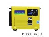 Дизельный генератор AKSA AAP 4200 DE