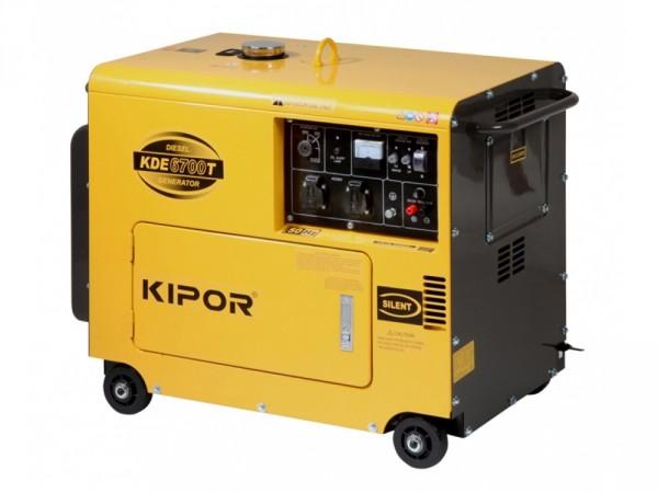 Дизельный генератор Kipor KDE 6500T3 5 кВт