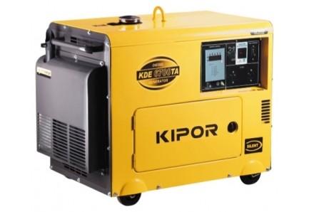 Дизельный генератор KIPOR KDE 6700TA 5 кВт