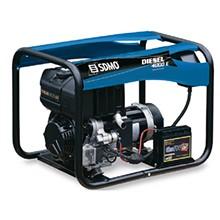 Дизельный генератор SDMO Diesel 4000Е XL 3,4 кВт однофазный
