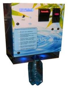 для продажи разливной очищенной минерализированной воды в тару потребителя за наличный расчет, есть напольные водоматы.