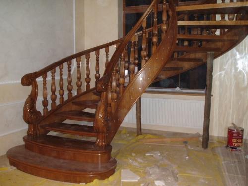 Долговечные Деревянные лестницы