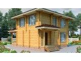 Фото 1 Дом двухэтажный, деревянный из профилированного бруса 9х9 м 335570