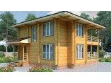 Фото 2 Дом двухэтажный, деревянный из профилированного бруса 9х9 м 335570