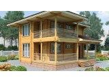 Фото 3 Дом двухэтажный, деревянный из профилированного бруса 9х9 м 335570