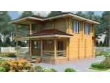 Фото 4 Дом двухэтажный, деревянный из профилированного бруса 9х9 м 335570
