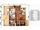 Фото 5 Дом двухэтажный, деревянный из профилированного бруса 9х9 м 335570