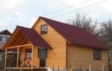 Дома деревянные каркасные. Строительство под ключ или поставка в виде конструктора.