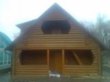 Дома деревянные по технологии Дикий сруб. Строительство под ключ или иная комплектация.