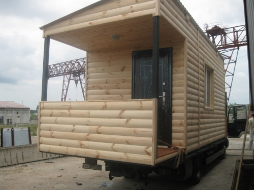 домик блок хаус