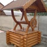 Домики для колодцев. В ассортименте домики - металлические, деревянные (сруб, вагонка).